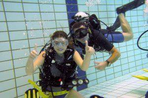Scubadoe zwembadtraining @ Aquarena