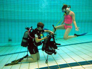 Scubadoe zwembadtraining @ Aquarena | Emmen | Drenthe | Nederland