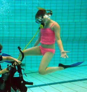 Buitenwaterduik junior 1* duikers in opleiding @ Speicherbecken Geeste